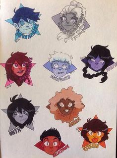 Diamonds and Stars Part One by PoorArtistGirl27 on DeviantArt