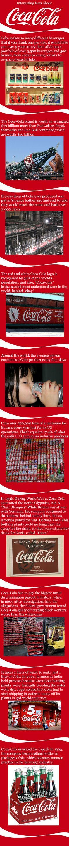 Interesting Coke facts.  // funny pictures - funny photos - funny images - funny pics - funny quotes - #lol #humor #funnypictures