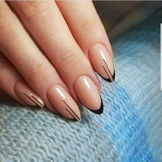 The advantage of the gel is that it allows you to enjoy your French manicure for a long time. There are four different ways to make a French manicure on gel nails. Elegant Nails, Classy Nails, Stylish Nails, Simple Nails, Glam Nails, Dope Nails, Pink Nails, Beauty Nails, Nagellack Design