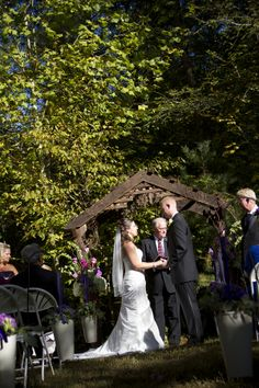 Outdoor Wedding Ceremony In Tennessee