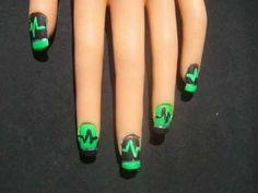 Type o negative nail art