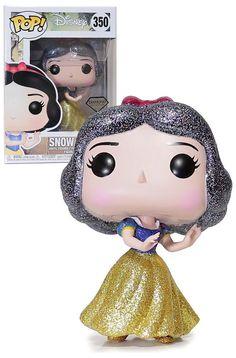 Disney Snow White Diamond Glitter - Funko POP vinyl Figure for sale online Pop Disney, Funko Pop Anime, Funko Pop Dolls, Pop Figurine, Pop Toys, Pop Collection, Pop Vinyl Figures, Cultura Pop, Funko Pop Vinyl