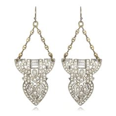 Lulu Frost // Art Deco Earrings #33