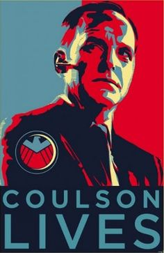 How about some Agent Coulson for S.H.I.E.L.D?