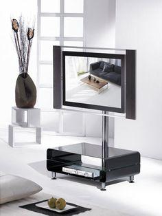 fernsehtisch h 777 wei hochglanz tv schrank tv m bel tv. Black Bedroom Furniture Sets. Home Design Ideas