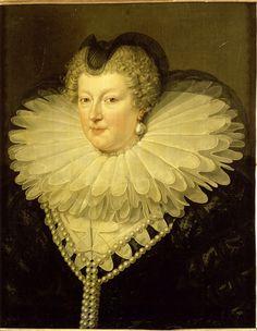 Frans Pourbus - Marie de Médicis, reine de France et de Navarre, en veuve