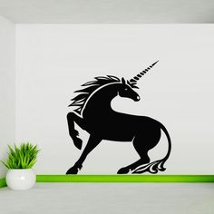 Wall Decal Art Decor Decals Sticker Unicorn Animal Myth Being Symbol Chastity Horse (M142) DecorWallDecals http://www.amazon.com/dp/B00FVSNCZQ/ref=cm_sw_r_pi_dp_eA-Xub01BXJQV