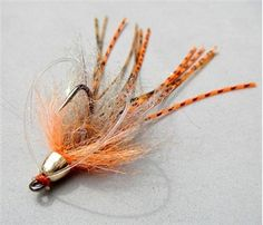Ugly Baby - Perfect for slow feeding bass.  This is the bass jig for fly anglers.