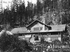 Rock Bay Hospital (1911).  CR Museum Colleciton.