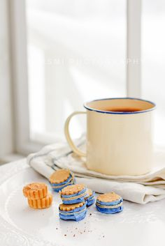 morning tea and cookies