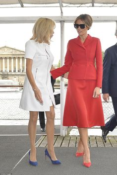 Macron, 64, and Trump, 47, made fast friends on Thursday in Paris. They'd met three times ...