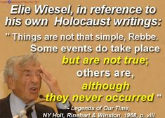 elie wiesel quotes on baby burning pits - Google Search