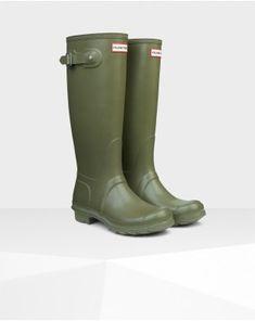 5915b3df5c7a2 Hunter Women s Original Tall Wellington Boot Olive - Hunter Boots Cheap  Hunter Boots