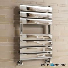 Was > Now Save off mm Chrome Designer Flat Panel Towel Rail Radiator Heated Bathroom Warmer Electric Towel Rail, Chrome Towel Rail, Warm Bathroom, New Bathroom Ideas, Bathroom Ladder, Bathroom Radiators, Chill Room, Towel Radiator, Towel Warmer