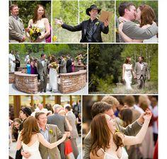 Wedding at Hyde Memorial State Parks - Santa Fe, NM