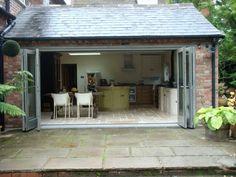 Bi Fold Doors Lapworth | Traditional Conservatories Ltd