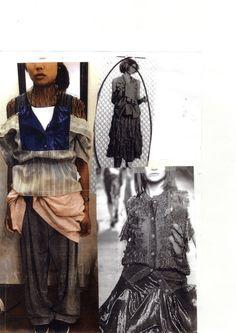 Fashion Portfolio - fashion design development; draping; fashion sketchbook // Ashley Kang