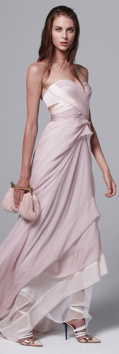 J. Mendel 2014 Resort Fabulous wedding dress for ML! Minus the extra fabric at the stomach -- would fit her petite size 0.