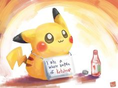 I love you Pikachu. I am so like Pikachu ◠‿◠