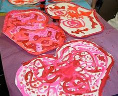 Great Idea for Valentines day craft.