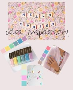 Spring color inspirations