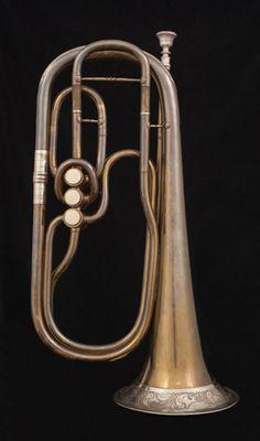 1870 J. Seiffert solo alto horn in Eb Berliner valves)