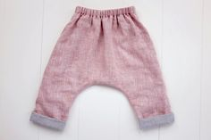 Adding lining to a pair of pants is a great way to keep kids warm and cozy for cold weather, and an added bonus is that it makes the pants reversible because th
