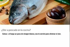 Quita el olor a pescado en tu cocina con este Tip.