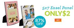 JustAddCoffee- The Homeschool Coupon Mom : 5x7 Easel Panel ONLY $2!!!