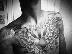 25+ Super Cool Chest Tattoo Designs - PelFusion