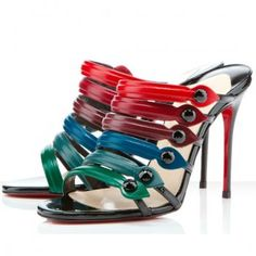 Cheap Christian Louboutin Blake 100mm Sandals on sale - $122.66