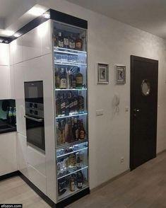 Luxury Kitchen Design, Luxury Kitchens, Interior Design Living Room, Home Kitchens, Small Kitchens, Farmhouse Kitchens, Modern Kitchens, Kitchen Cabinet Organization, Kitchen Cabinet Design