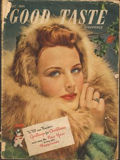 Christmas makeup advice from the 40's. http://vintagemakeupguide.com/1940s-look/