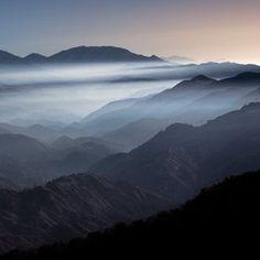 San Gabriel Mountains by Alex Noriega