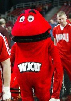 wku big red mascot | WKU downed by Southern Illinois 68-63 - Bowling Green Western Kentucky ...