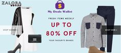 Outlet Sale - Save Up To 80% Off On Your Favourite Brands at     #Zalora. #Women, #Men, #Clothes, #Dresses. For More Visit http://www.mydealswallet.com/store/zalora-coupon-codes.html