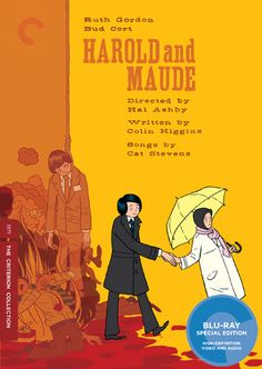 When I first saw this movie, I saw it everyday for almost a week because I fell in love with it so much! <3 Ruth Gordon, Theatre Of The Absurd, Bud Cort, Cinema Posters, Movie Posters, Cat Stevens, Holy Cross, The Criterion Collection, Maude