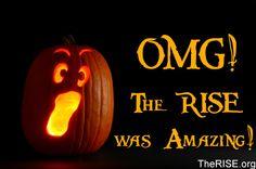 RISE of the Jack O'Lanterns< a pal's production. gonna go see it. jack o'lanterns gone amok? yes, please.