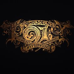 Gold #foilstamp title on black stock for @aaronhorkey @hyperstoic @hyperstoic_event