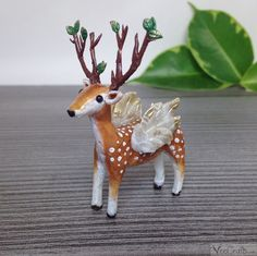 love, cute et sweet image sur We Heart It Polymer Clay, Super Cute, Etsy, Christmas Ornaments, Vintage, Holiday Decor, Sweet, Nature, Animaux