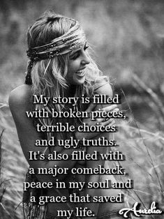 Quotes Sayings and Affirmations A grace that saved my life. True Quotes, Great Quotes, Quotes To Live By, Motivational Quotes, Inspirational Quotes, New Me Quotes, Not Giving Up Quotes, You're Beautiful Quotes, Wonderful Life Quotes