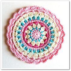 Little Spring Mandala: free pattern