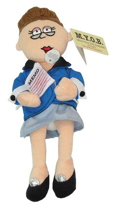 M.Y.O.B. Doll: Executive Assistant Talking Doll.    http://www.thecollectorshub.com/occupation-figurines.html