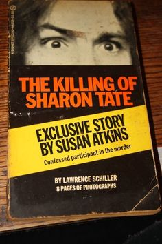 vintage paperback book THE  KILLING OF SHARON TATE 1969 RARE  charles manson