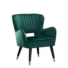 Bergen Chair Niagara Velvet Bedrooms Velvet Accent