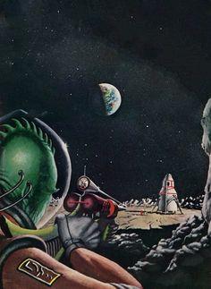Richard McKenna - Moon Duel, 1965.