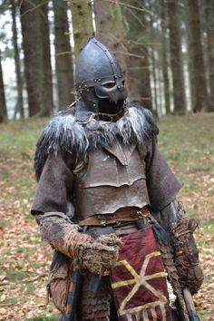 "I'm back from LARP battle ""Smrtihlav"" (Death's head). My character Karanath - Chaos warrior andchampion of Khorne"