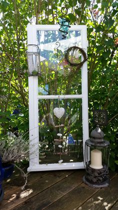 bildergebnis f r fenster garten deko deko pinterest garden garden windows und garden art. Black Bedroom Furniture Sets. Home Design Ideas