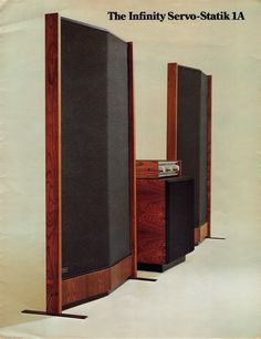 "The Infinity Servo-Statik 1A, I think this is the second version from 1975. All comparisons aside, though, the word that best describes the sound of the Infinity SS-1 on large-scale choral or orchestral music is ""stupendous."""