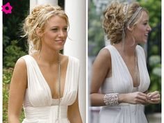 Peinado de novia griego como Blake Lively